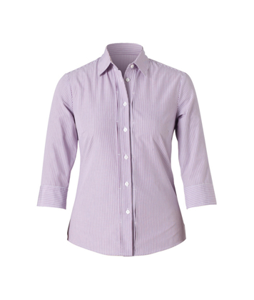 Picture of NNT Uniforms-CAT4LD-VIS-3/4 Sleeve Tuck Shirt