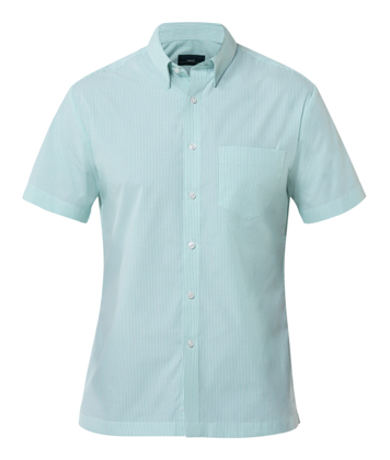 Picture of NNT Uniforms-CATD79-MTW-Short Sleeve Button Down Collar Shirt