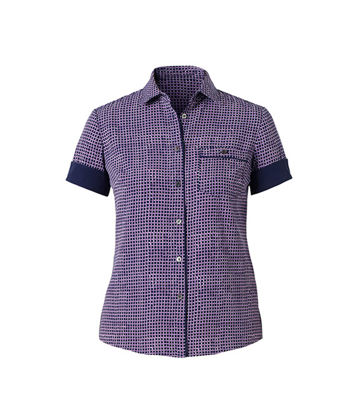 Picture of NNT Uniforms-CAT9S2-NVL-Short Sleeve Action Back Shirt
