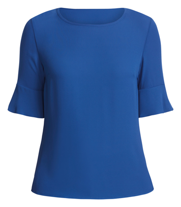 Picture of NNT Uniforms-CATU5T-CTN-Fluted Sleeve Top