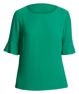 Picture of NNT Uniforms-CATU5T-EMD-Fluted Sleeve Top