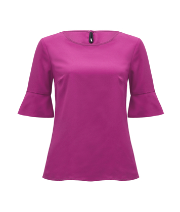 Picture of NNT Uniforms-CATU5T-FUS-Fluted Sleeve Top