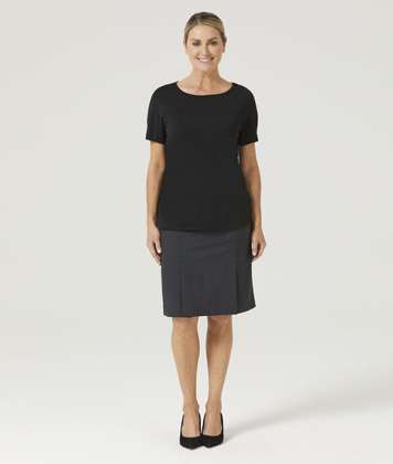 Picture of NNT Uniforms-CATUHN-BKP-Boat Neck Jersey Top