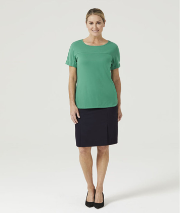 Picture of NNT Uniforms-CATUHN-EMP-Boat Neck Jersey Top
