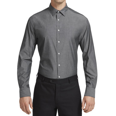 Picture of NNT Uniforms-CATJ2W-BWC-Chambray Long Sleeve Shirt