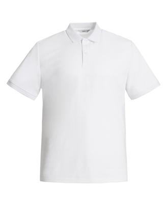Picture of NNT Uniforms-CATJ2M-WHT-Short Sleeve Polo