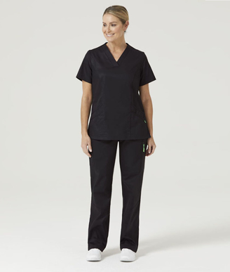 Picture of NNT Uniforms-CATCGF-BLA-Rontgen Elastic Waist Scrub Pant