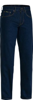 Picture of Bisley Workwear-BP6712-Rough Rider Stretch Denim Jean