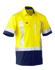 Picture of Bisley Workwear-BS1177XT-Flex & Move™ X Taped Hi Vis Utility Shirt Short Sleeve