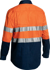 Picture of Bisley Workwear-BSC6896-3M Taped Closed Front Cool Lightweight Hi Vis Shirt Long Sleeve