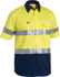 Picture of Bisley Workwear-BS1896-3M Taped Cool Lightweight Hi Vis Shirt Short Sleeve