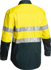 Picture of Bisley Workwear-BS6896-3M Taped Cool Light Weight Hi Vis Shirt Nbcf Embroidery - Long Sleeve