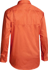 Picture of Bisley Workwear-BS6894-Cool Lightweight Hi Vis Drill Shirt Long Sleeve