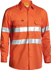 Picture of Bisley Workwear-BS6897-3M Taped Cool Lightweight Hi Vis Shirt Long Sleeve