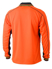 Picture of Bisley Workwear-BK6219-Hi Vis Polyester Mesh Polo Long Sleeve