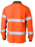 Picture of Bisley Workwear-BK6219T-Taped  Hi Vis Polyester Mesh Polo Long Sleeve