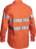 Picture of Bisley Workwear-BT6482-3M Taped Hi Vis Drill Shirt Long Sleeve