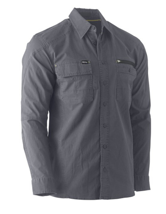 Picture of Bisley Workwear-BS6144-Flex & Move™ Utility Shirt Long Sleeve