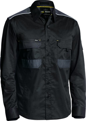 Picture of Bisley Workwear-BS6133-Flex & Move™ Mechanical Stretch Shirt Long Sleeve