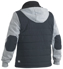Picture of Bisley Workwear-BJ6944-Flex & Move™ Contrast Puffer Fleece Hooded Jacket