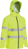 Picture of Bisley Workwear-BJ6927T-Taped Hi Vis Lightweight Ripstop Mini Ripstop Rain Jacket With Concealed Hood (Waterproof)