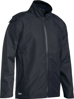 Picture of Bisley Workwear-BJ6926-Lightweight Mini Ripstop Rain Jacket With Concealed Hood (Waterproof)