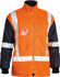 Picture of Bisley Workwear-BK6975-Taped Hi Vis 5 In 1 Rain Jacket
