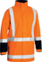 Picture of Bisley Workwear-BJ6967T-Taped Hi Vis Rain Shell Jacket (Waterproof)