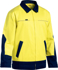 Picture of Bisley Workwear-BJ6917-Hi Vis Drill Jacket With Liquid Repellent Finish