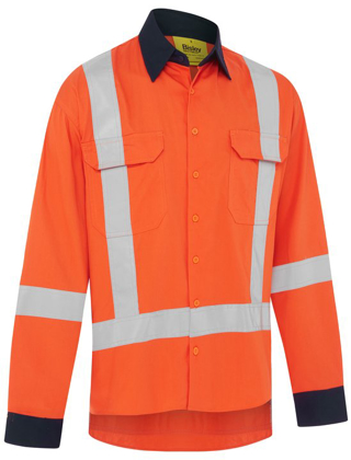 Picture of Bisley Workwear-BS6248XT-Ttmc_W17 Cool Light Weight Drill Shirt
