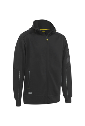 Picture of Bisley Workwear-BK6925-Zip-Front Work Fleece Hoodie