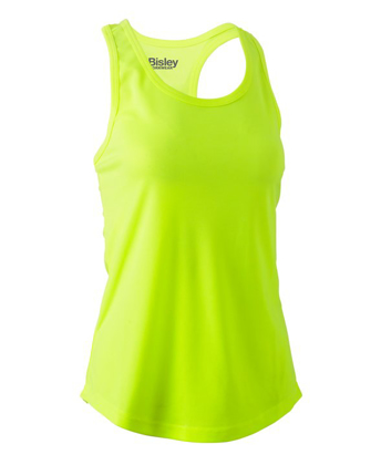 Picture of Bisley Workwear-BKL0439-Womens Racer Back Singlet