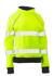 Picture of Bisley Workwear-BKL6818T-Womens Taped Hi Vis Fleece Jumper