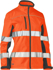 Picture of Bisley Workwear-BJL6059T-Womens Taped Two Tone Hi Vis Soft Shell Jacket