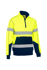 Picture of Bisley Workwear-BK6987T-Taped Hi Vis Fleece Pullover With Sherpa Lining