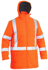 Picture of Bisley Workwear-BJ6379XT-Taped Hi Vis Puffer Jacket With X Back (Shower Proof)