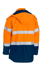 Picture of Bisley Workwear-BJ8110T-Taped Hi Vis Fr Wet Weather Shell Jacket