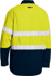 Picture of Bisley Workwear-BS8237T-Tencate Tecasafe® Plus 480 Taped Hi Vis Lightweight Fr Vented Shirt Long Sleeve