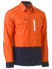 Picture of Bisley Workwear-BS6177-Flx & Move™ Hi Vis Utility Shirt Long Sleeve