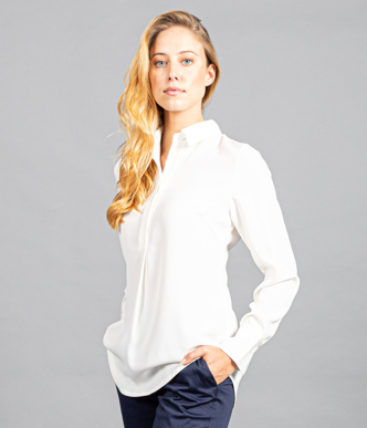 Picture of Gloweave-1797WL-WOMEN'S QUINN PLACKET FRONT TOP