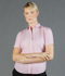Picture of Gloweave-1891WS-WOMEN'S DOBBY STRIPE SHORT SLEEVE SHIRT-CARSON