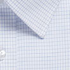 Picture of Gloweave-1295L-MEN'S MINI CHECK LONG SLEEVE SHIRT - BELL