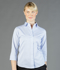 Picture of Gloweave-1251WL-WOMEN'S SQUARE TEXTURED 3/4 SLEEVE SHIRT-GUILDFORD