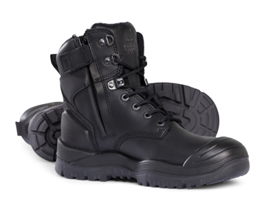 Picture of Mongrel Boots-561020-High Leg ZipSider Boot w/ Scuff Cap