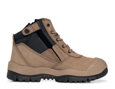 Picture of Mongrel Boots-561060-High Leg ZipSider Boot w/ Scuff Cap