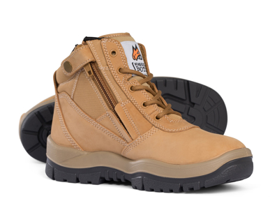 Picture of Mongrel Boots-951050-Non Safety High Leg Zipsider Boot