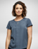 Picture of Corporate Reflection-6801S91-Willow Ladies Loose Fit, Short Sleeve blouse
