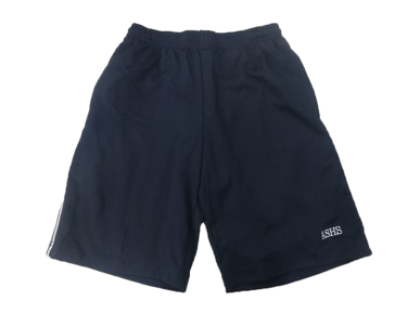Picture of Polyester cotton backed shorts with piping