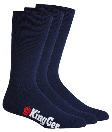 Picture of King Gee-K09230-Men's 3 Pack Bamboo Work Socks