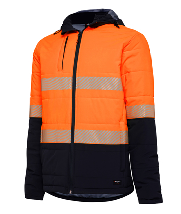 Picture of King Gee-K55015-Reflective Puffer Jacket
